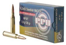 Cartouche 6,5x55 Mauser suédois