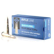 Cartouche calibre 8X51R LEBEL, 200 grains FMJ BT, marque PPU