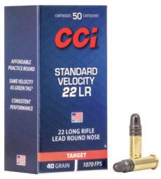 cartouches à percussion annulaire marque CCI, calibre 22 long rifle
