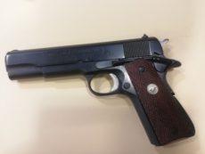 Pistolet semi automatique COLT modèle Government, série 70, calibre .45 ACP