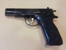 Pistolet CZ modèle 75, calibre 9x19