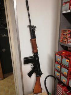Fusil FN FAL, calibre 7,62 Nato