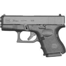 Pistolet semi automatique GLOCK modèle 26 GEN4 calibre 9x19