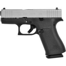 Pistolet semi automatique GLOCK modèle 43X Silver Slide calibre 9x19