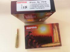 Cartouches de chasse marque NORMA calibre 7 X 64