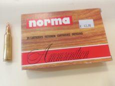 Cartouches de chasse marque NORMA calibre 7mm Remington magnum