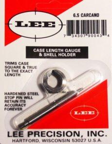 LEE Case Lenght Gauge & Shell Holder 6,5 Carcano