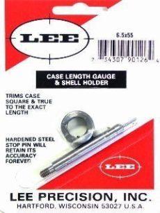 LEE Case Lenght Gauge & Shell Holder 6,5x55 Swedish