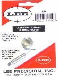 LEE Case Lenght Gauge & Shell Holder 30 M1