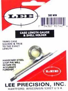 LEE Case Lenght Gauge & Shell Holder 300 Winchester