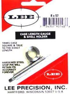 LEE Case Lenght Gauge & Shell Holder 8x57 Mauser
