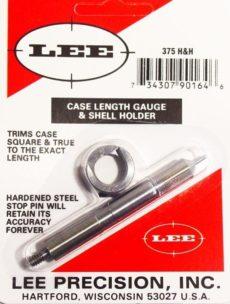LEE Case Lenght Gauge & Shell Holder  375 Holland & Holland