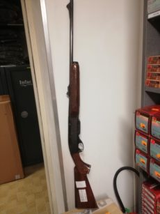 Carabine de chasse Remington Woodmaster calibre 7mm Remington Express