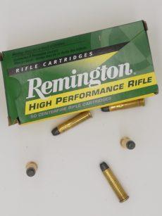 Cartouche calibre 32-20, 100 grains LRN, marque Remington