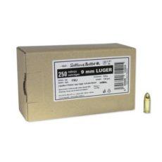 Munitions Sellier et Bellot calibre 9x19 (9mm luger) boite de 250 cartouches