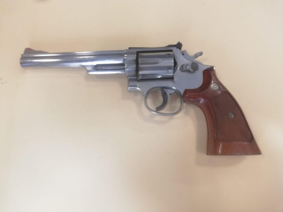 Revolver SMITH ET WESSON modèle 66, calibre .357 magnum / .38 special