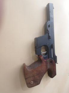 Pistolet WALTHER modèle GSP, calibre .22 long rifle