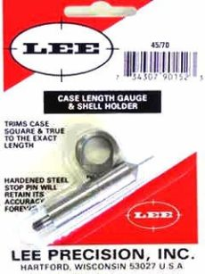 LEE Case Lenght Gauge & Shell Holder 45-70 Goverment
