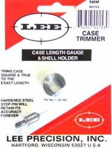 LEE Case Lenght Gauge & Shell Holder 9mm