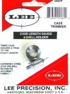 LEE Case Lenght Gauge & Shell Holder 45 ACP